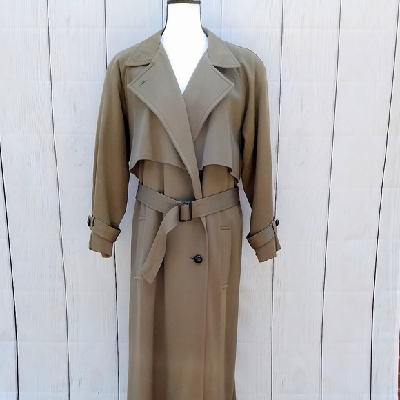 Anne Klein Jackets & Blazers - Sale 🎉Vintage Anne Klein army green trench coat